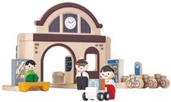 Plan Toys  Plan City houten speelstad gebouw Station