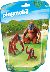 Playmobil  City Life Orang-Oetans met kind 6648