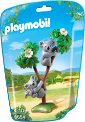 Playmobil  City Life Koala's met baby 6654