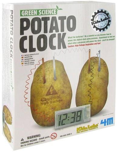 4M  Green Science wetenschapsdoos Aardappel klok-1