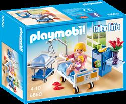Playmobil City Life  - Kraamkamer met babybed  6660