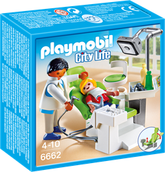 Playmobil City Life  - Tandartsenkabinet  6662