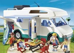 Playmobil Summer Fun  - Grote familie-camper  6671