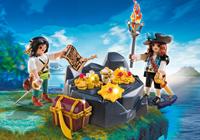 Playmobil Pirates - Koninklijke schatkist met piraat  6683-3
