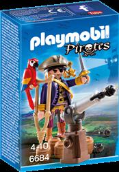 Playmobil Pirates - Piratenkapitein Eénoog  6684