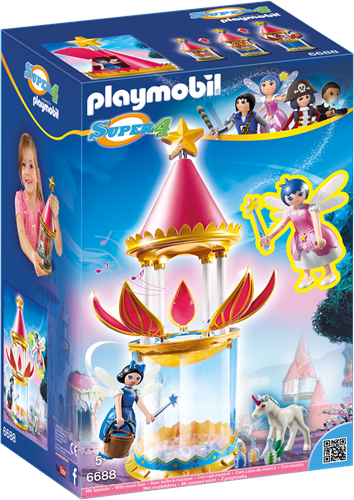 Playmobil Super 4 muzikale toren met Twinkle 6688