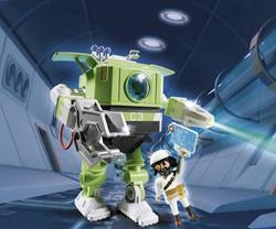 Playmobil Super 4 - Cleano-Robot  6693
