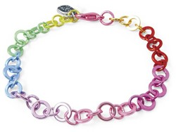 Charm It  sieraden armband regenboog