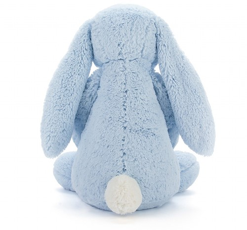 Jellycat Bashful Blauw Konijn Groot-3