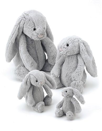 Jellycat Bashful Silver Bunny Large 36cm-3