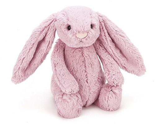 Jellycat knuffel Bashful Tulip Bunny Baby 13cm
