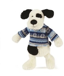 Jellycat  poppen kleding Paxton Puppy winterkleding