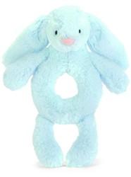 Jellycat Bashful Blauw Konijn Grijper
