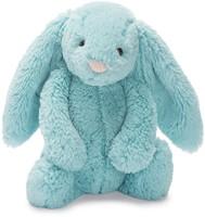 Jellycat knuffel Bashful Aqua Bunny Medium 31cm