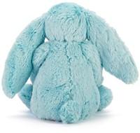 Jellycat knuffel Bashful Aqua Bunny Medium 31cm-3