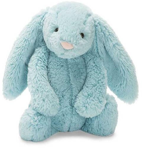 Jellycat knuffel Bashful Aqua Bunny Small 18cm