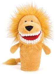Jellycat  handpop Toothy Lion