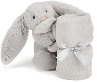 Jellycat Bashful Silver Bunny Soother-2