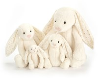 Jellycat knuffel Bashful bunny Twinkle small 18cm-2