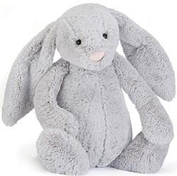 Jellycat knuffel Bashful Silver Bunny Really Big 67cm