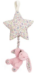 Jellycat Blossom Tulip Bunny Star Musical Pull - 28cm