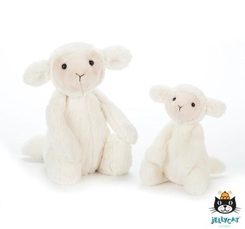 Jellycat Bashful Lamb new small 18cm-2