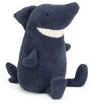 Jellycat  pluche knuffel Toothy Shark Small - 22 cm