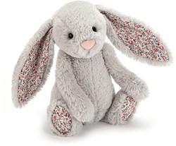 Jellycat Blossom Silver Bunny Baby - 13cm