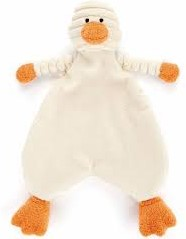 Jellycat Cordy Roy Baby Duckling Soother - 23cm