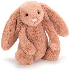 Jellycat knuffel Bashful bunny apricot medium 31cm