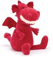 Jellycat knuffel Toothy Dragon 36cm