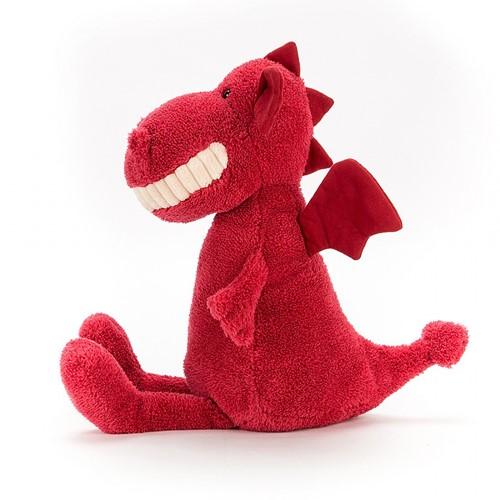 Jellycat knuffel Toothy Dragon 36cm-2
