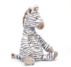 Jellycat  Fluffles Zebra Medium - 23 cm