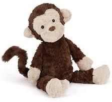 Jellycat knuffel Mumble Monkey Small -23cm