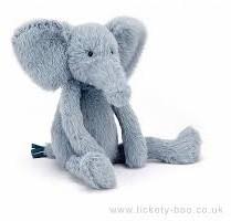 Jellycat knuffel Sweetie Elephant 30cm