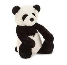 Jellycat knuffel Bashful Panda Welp Medium 31cm