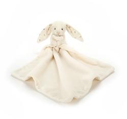 Jellycat knuffeldoekje Bashful bunny twinkle soother 33cm