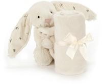 Jellycat knuffeldoekje Bashful bunny twinkle soother 33cm-2