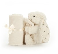 Jellycat knuffeldoekje Bashful bunny twinkle soother 33cm-3