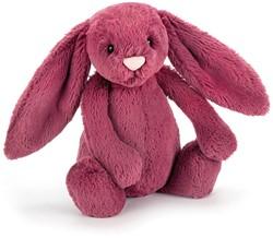 Jellycat knuffel bashful bunny berry small 18cm
