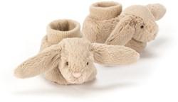 Jellycat Bashful Beige Bunny Booties - 10cm