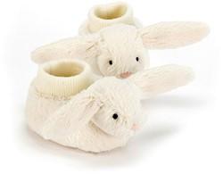 Jellycat Bashful Cream Bunny Booties - 10cm