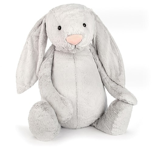 Jellycat Knuffel Bashful Silver Bunny Really Really Big