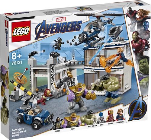 LEGO Super Heroes Strijd bij de basis van de Avengers 76131