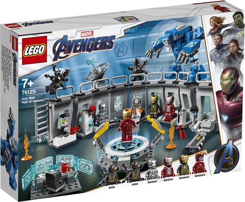 LEGO Super Heroes Iron Man Labervaring 76125