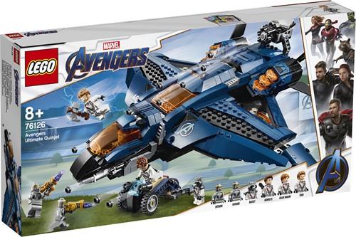 LEGO Super Heroes Avengers Ultieme Quinjet 76126