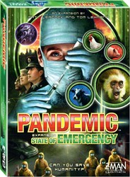 Z-man Games coörperatief bordspel Pandemic State of Emergency Engelse editie