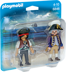 Playmobil - Duopack - piraat en soldaat
