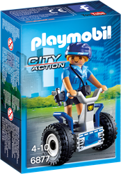 Playmobil City Action - Politieagente met balans racer  6877
