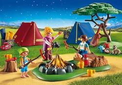 Playmobil  Summer fun Tentenkamp met kampvuur 6888